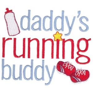 Embroidery Design Set - Daddys Buddy Sentiments 8