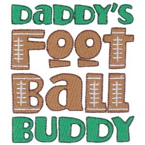 Embroidery Design Set - Daddys Buddy Sentiments 9