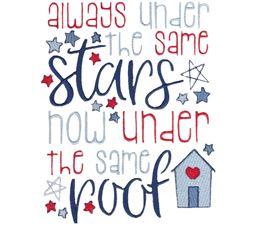 Always Under The Same Stars Now Under The Same Roof