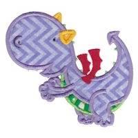 Dashing Dragons Applique 5x7