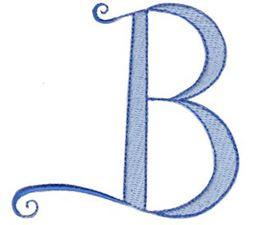 Dominique Alphabet Capital B