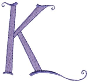 Dominique Alphabet Capital K