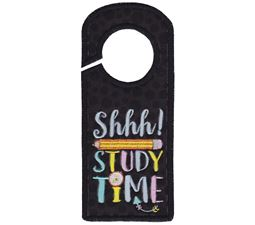 Study Time Door Hanger