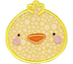 Chick Face Applique