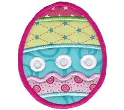 Cute Easter Egg Applique