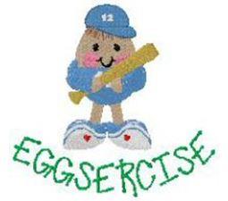 Eggsercise Egghead