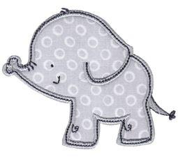 Elephants Applique 10