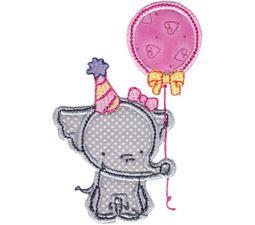 Elephants Applique 13