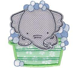 Elephants Applique 6