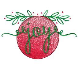 Joy Sketch Ornament