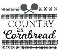 Country As Cornbread