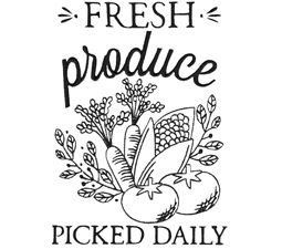 Fresh Produce Picked Daily