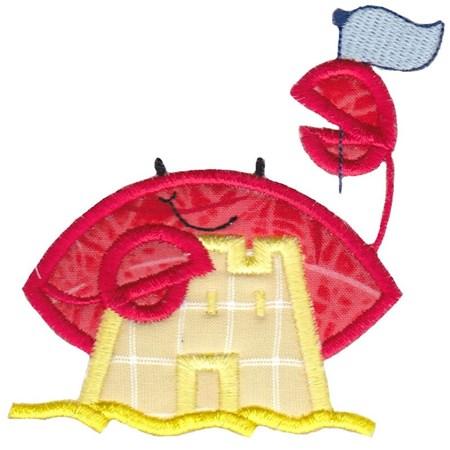 Feeling Crabby Applique 13