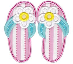 Flip Flops Applique 1