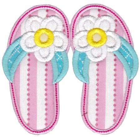 Flip Flops Applique 1