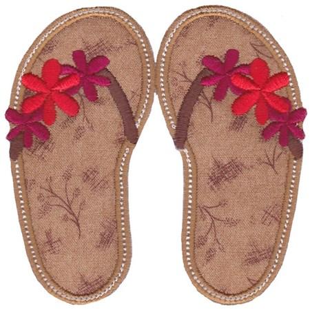 Flip Flops Applique 3