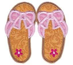 Flip Flops Applique 4