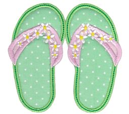 Flip Flops Applique 5