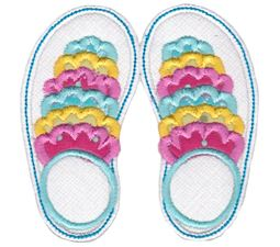 Flip Flops Applique 9