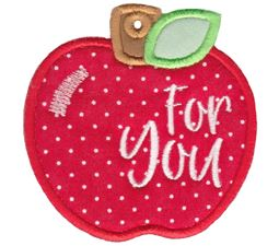 Apple For You Gift Tag