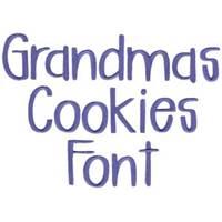 Grandmas Cookies Font