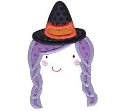 Witch Face Applique