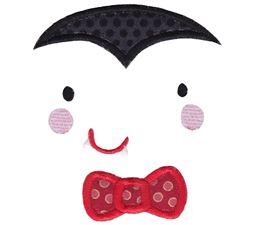 Dracula Face Applique