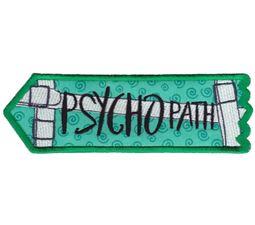 Psychopath ITH Halloween Sign