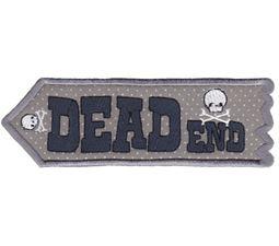 Dead End ITH Halloween Sign