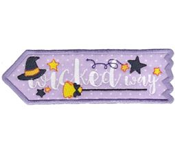 Wicked Way ITH Halloween Sign