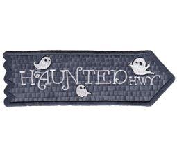 Haunted Highway ITH Halloween Sign