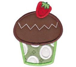 Hello Cupcake Applique 11