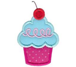 Hello Cupcake Applique 12