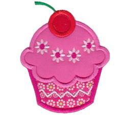 Hello Cupcake Applique 2