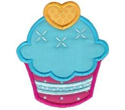 Hello Cupcake Applique 3