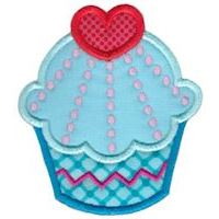 Embroidery Design Set - Hello Cupcake Applique
