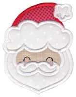 Here Comes Christmas Applique