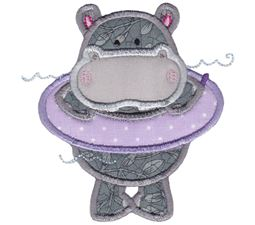 Hippos Applique 1