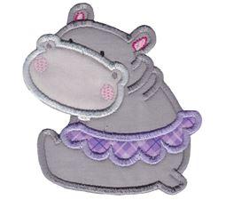 Hippos Applique 5