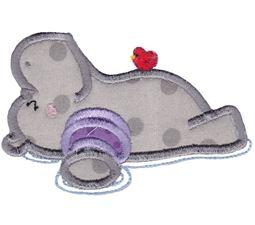Hippos Applique 9