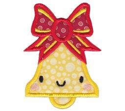 Kawaii Christmas Bell Applique