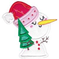Kawaii Christmas Applique