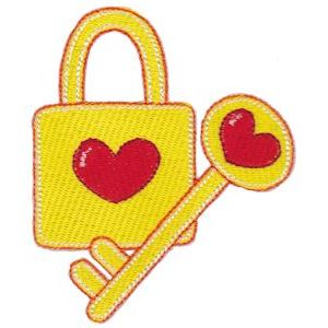 Embroidery Design Set - Key To My Heart 1