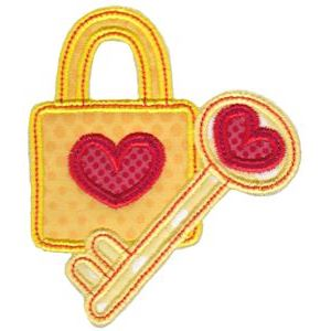 Embroidery Design Set - Key To My Heart 2