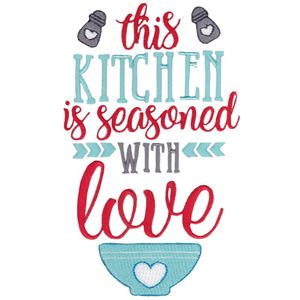 Kitchen Sayings Embroidery Designs - Bunnycup Embroidery