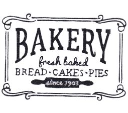 Bakery Fresh Baked Bread Cakes Pies