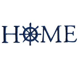 Home With Ship Wheel