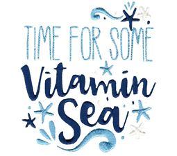 Time For Some Vitamin Sea