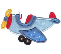 Plane Applique