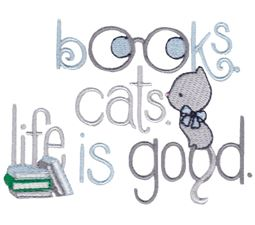 Books Cats Life Is Good
